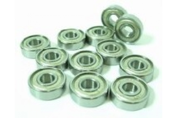 Bearings 608 ZZ Abec 5 FOR SKATE SNOW WHITE