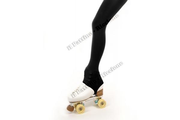 Pantyhose skating black color with stirrup 50/60 DEN