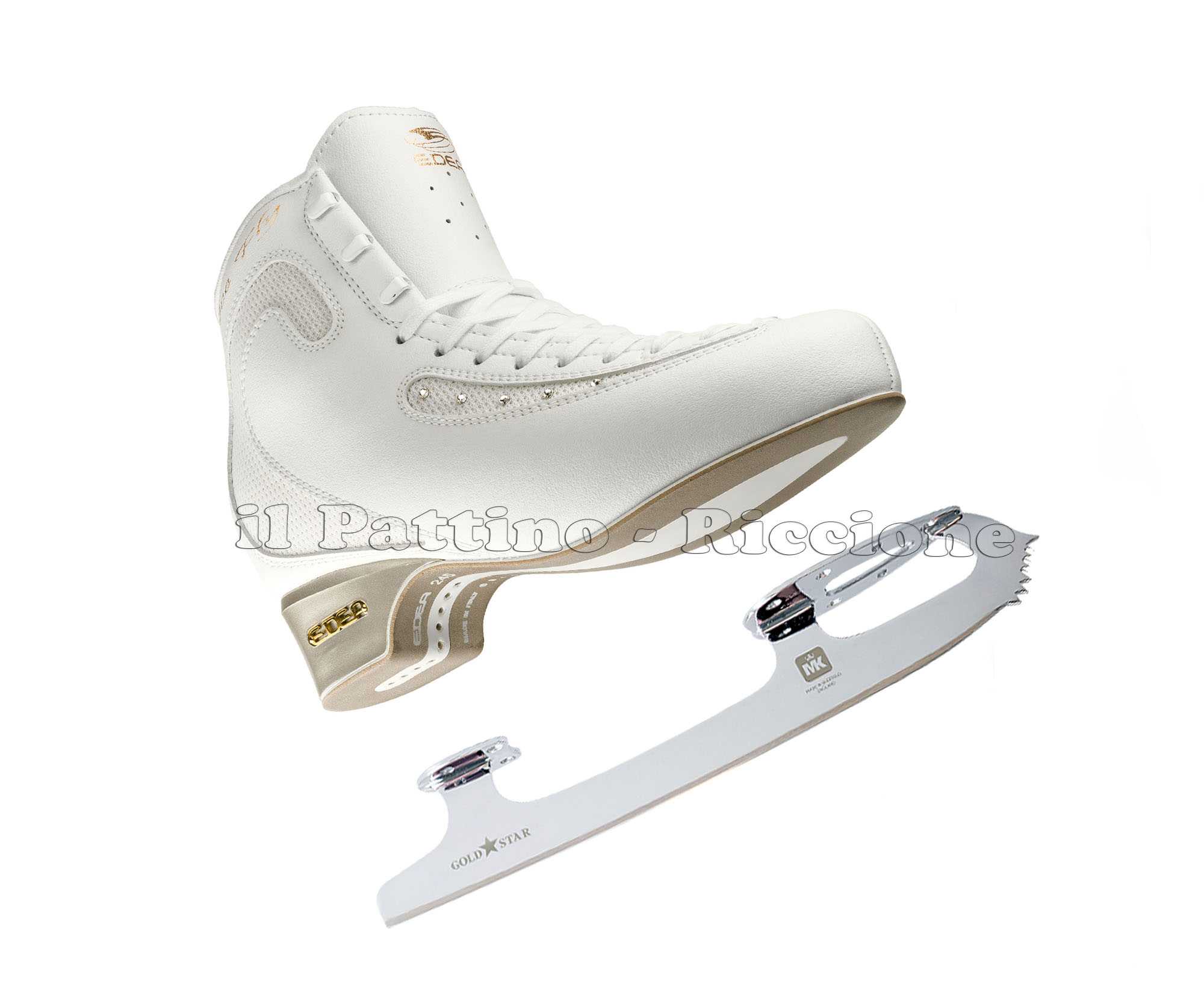 email for best price Figure Skating Blades NEW  MK GOLD STAR