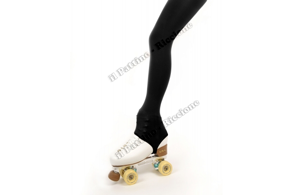 Pantyhose skating black color with stirrup 50/60 DEN