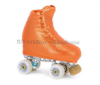 Skate cover metal orange