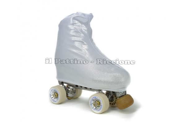 Skate cover silver