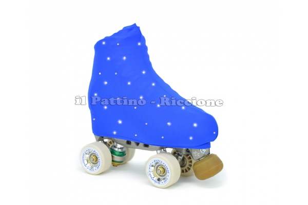 Skate cover blue with strass