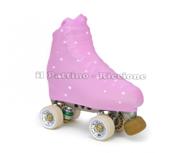 Skate cover lilac with Strass