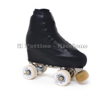 Skate cover metal black