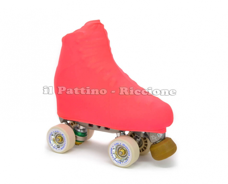 Skate cover peach fluo