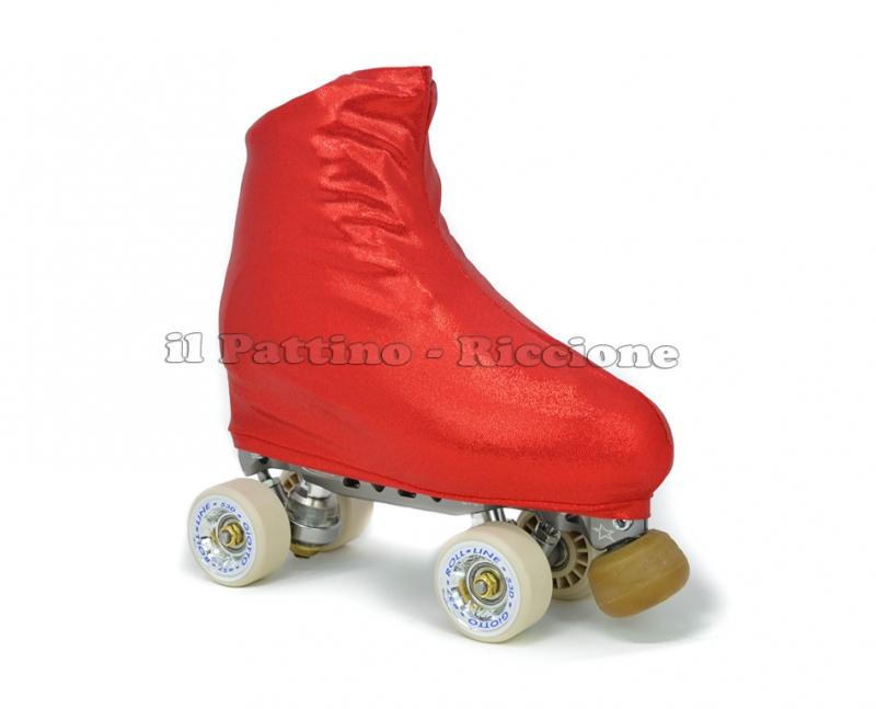 Skate cover red metal