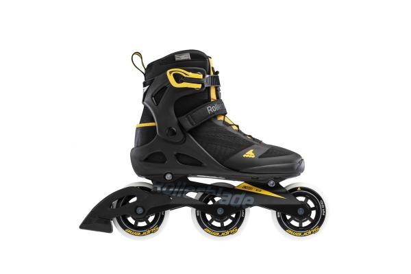 Inline skates Rollerblade Macroblade 100 3WD black / yellow
