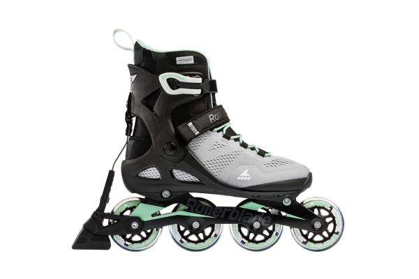 Inline skates Rollerblade Macroblade 80 ABT glacier grey / neo mint