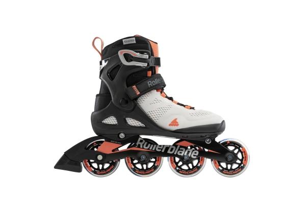 Inline skates Rollerblade Macroblade 80 glacial grey/coral
