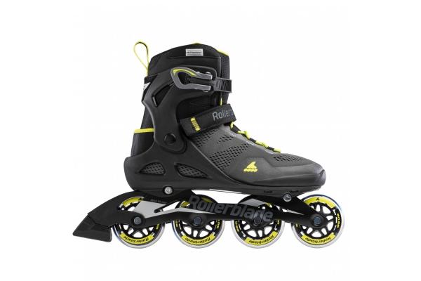 Inline skates Rollerblade Macroblade 80 black / yellow