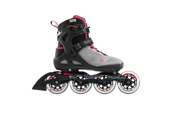 Inline skates Rollerblade Macroblade 90 gray / pink