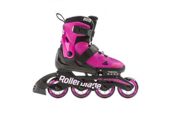 Skates Rollerblade Microblade fuchsia / black