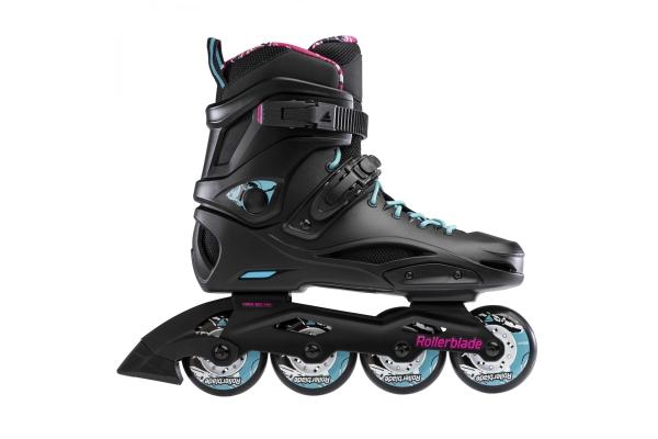 Inline Skates Rollerblade TWISTER EDGE BLACK/AQUA