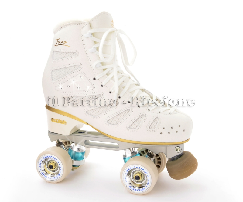 Professional Gold 4 Edea Jazz + Roll-line Energy + wheels Giotto