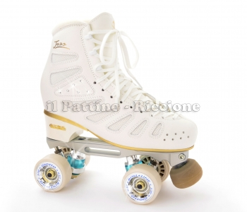 Professional Gold 5 Edea Jazz + Roll-line Energy Steel + wheels Giotto