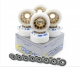 Wheels for Dance ICE 90/A with Bearings