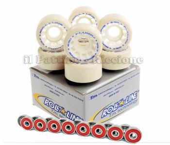 Wheels Fluido 45D - diam.57 with Bearings