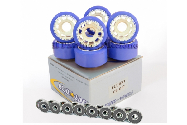 Wheels Fluido 47D - diam.57 with Bearings