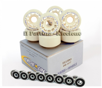 Wheels Fluido 49D - diam.57 with Bearings