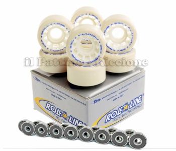 Wheels Fluido 53D - diam.57 with Bearings