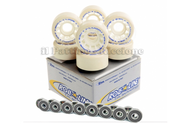 Wheels Fluido 53D - diam.57 with Bearings