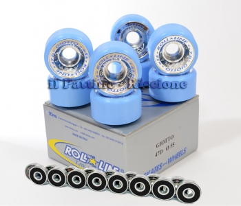 Wheels Giotto 47D - diam.55 with Bearings