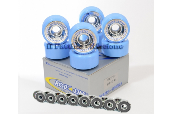 Wheels Giotto 47D - diam.57 with Bearings