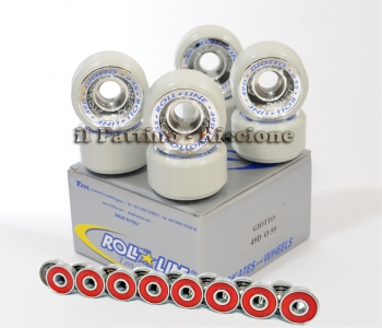 Wheels Giotto 49D - diam.55 with Bearings