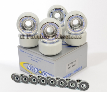 Wheels Giotto 49D - diam.57 with Bearings