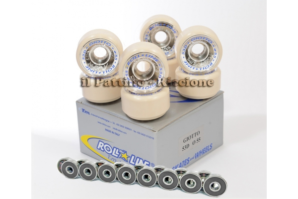 Wheels Giotto 53D - diam.55 with Bearings