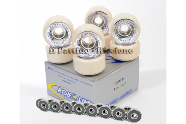 Wheels Giotto 53D - diam.57 with Bearings