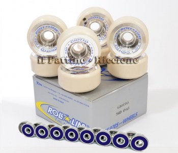 Wheels Giotto 54D - diam.63 with Bearings