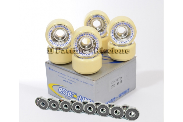 Wheels Giotto 57D - diam.55 with Bearings