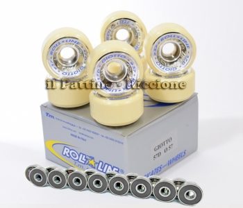 Wheels Giotto 57D - diam.57 with Bearings