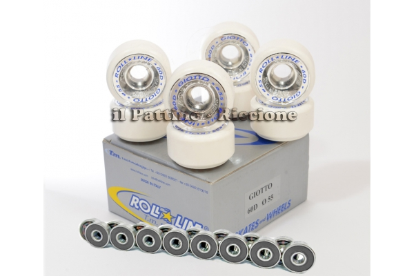 Wheels Giotto 60D - diam.55 with Bearings