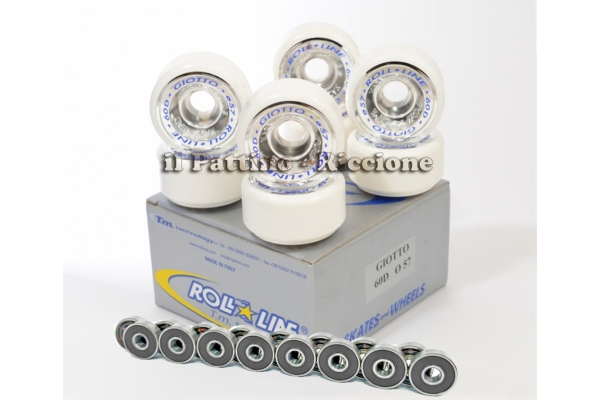 Wheels Giotto 60D - diam.57 with Bearings