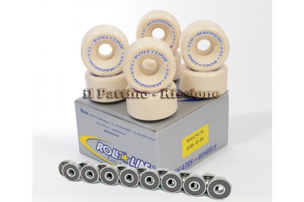 Wheels Magnum 53D - diam.55 with Bearings