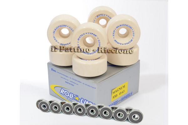Wheels Magnum 53D - diam.63 with Bearings