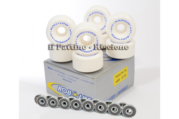 Wheels Magnum 60D - diam.55 with Bearings