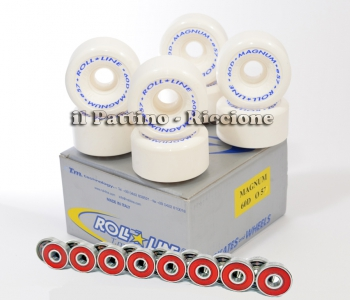 Wheels Magnum 60D - diam.57 with Bearings