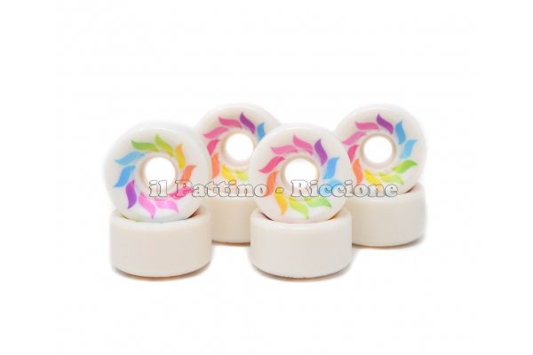 Wheels Star Design CS 40 diam. 57 mm White