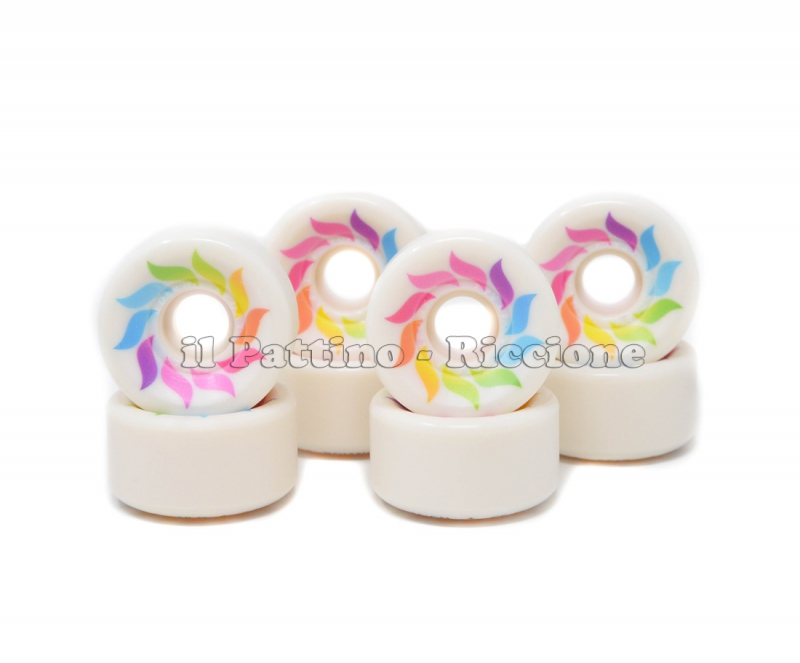 Wheels Star Design CS 40 diam. 57 mm White