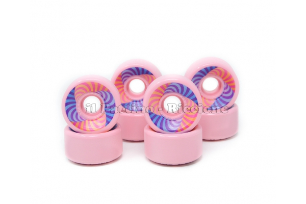 Wheels Star Design HD 70 diam. 57 mm Pink